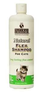 Natural Flea Shampoo for Cats & Kittens