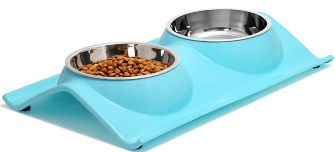 UPSKY Double Dog Cat Bowls – Premium Stainless Steel Pet Bowls