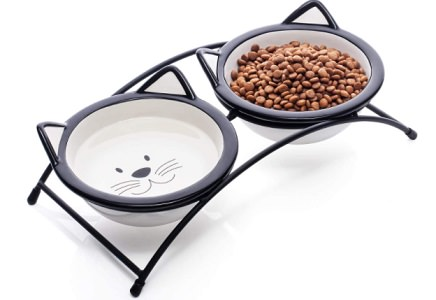 Y YHY Cat Food Bowls Set – Raised Cat Bowls for Food and Water