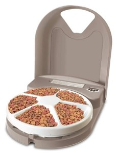 PetSafe 5 Meal Automatic Pet Feeder – Dry Food Dispenser