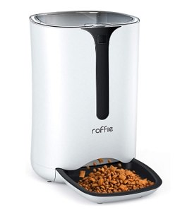 Roffie Automatic Cat Feeder – 7L Food Dispenser for Small Pets