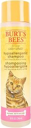 Burt's Bees for Cats Hypoallergenic Cat Shampoo with Shea Butter & Honey